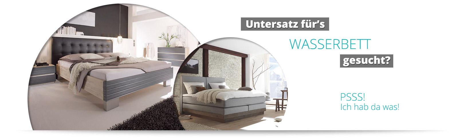 Bettgestelle für Ihr Wasserbett bei Ihrem Wasserbetten-Profi bei Potsdam
